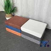 坐墊榻榻米沙發墊硬高密度飄窗座墊厚海綿凳子【古怪舍】