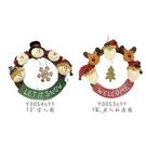 【X mas聖誕特輯】聖誕裝飾-裝飾藤圈(33公分) Y0054699/Y0053699