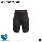 【Compressport 瑞士】男款輕量壓縮短褲 黑 CS1-2236-1BK 原價3000元