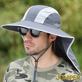 遮陽漁夫帽子-抗紫外線UV防曬披風超大頭圍尺寸高頂帽J7553 JUNIPER朱尼博