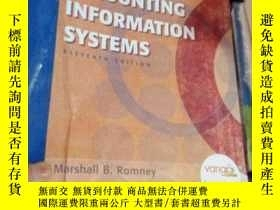 二手書博民逛書店Accounting罕見Information SystemsY