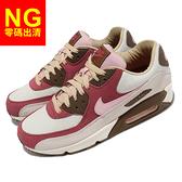 【US10.5-NG出清】Nike Air Max 90 NRG Bacon 培根 米白 紅 咖啡 男鞋 零碼 慢跑鞋 右腳內側膠痕【ACS】