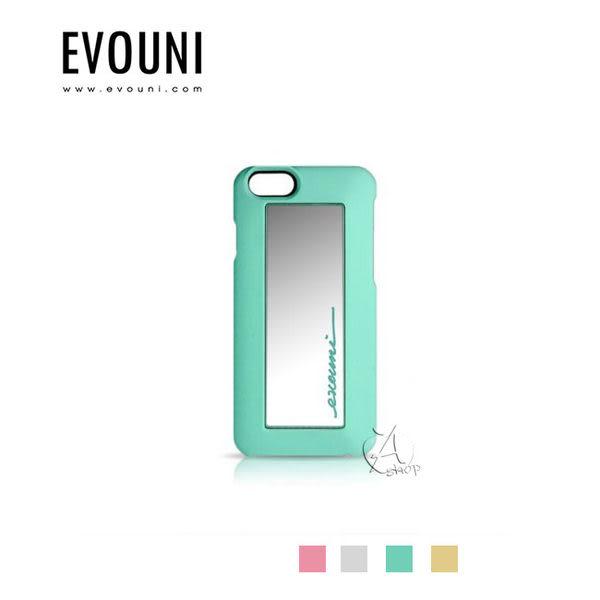 【A Shop】EVOUNI S46系列 iPhone 6 鏡 愛美保護殼後可放悠遊卡/信用卡-共4色(加送鋼化玻璃保護貼正面)