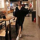 【GZ38】韓國東大門韓版寬鬆大碼不規則...