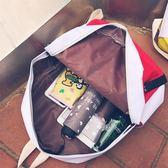 雙肩包女韓版潮百搭休閒旅行包校園帆布背包初中學生書包 免運