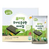 韓國 NAEBRO 銳寶 PureEar 寶寶無鹽海苔1.5gx10包(原廠公司貨)