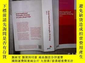 二手書博民逛書店INTERNATIONAL罕見TRANSFER PRICING 2011 2011年國際轉讓定價Y180897