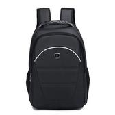 後背包-純色旅行大容量商務休閒男電腦包5色73ru15【巴黎精品】