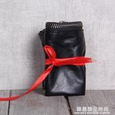 手工錢包頭層牛皮錢夾簡潔大方原創設計男女情侶款