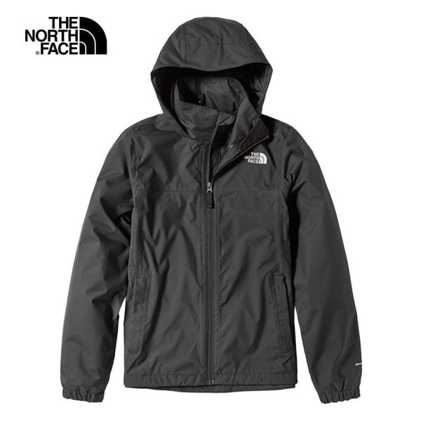 The North Face 女 防水透氣衝鋒外套 黑 NF0A49F8JK3【GO WILD】