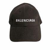 【BALENCIAGA】LOGO 電繡 cap 帽子/老帽 (黑) 529192 310B5 1077