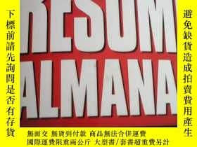二手書博民逛書店Adams罕見Resume AlmanacY215330 Ric