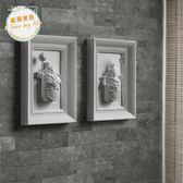 浮雕家飾招財墻飾3D立體創意家居飾品辟邪樹脂壁掛守門神壁飾jy【父親節好康八八折】