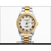 金銀交錯滿天星水鑽羅馬刻度手錶 Valentino范倫鐵諾專櫃品牌錶款【NE445】單支