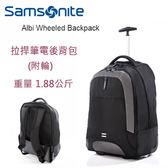 [佑昇]Samsonite 新秀麗 Albi Z93 超輕(1.88kg) 拉桿筆電後背包 黑色 (新貨到~)