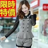 兩件式套裝 OL制服 女裝(整套)-俐落亮麗熱銷嚴選率性顯瘦58k32【巴黎精品】