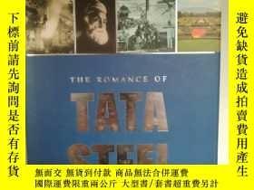 二手書博民逛書店The罕見Romance of Tata SteelY17705