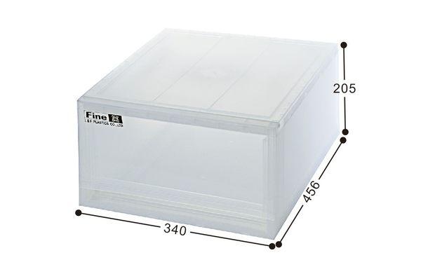 【好市吉居家生活】嚴選聯府KEYWAY~LF-3401 抽屜式整理箱 收納箱 抽屜收納