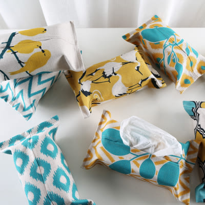 時尚可愛面紙套 創意抽取紙巾盒2