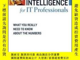 二手書博民逛書店Financial罕見Intelligence For It ProfessionalsY255562 Kar