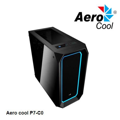 Aerocool P7-C0 雙面 強化玻璃 機殼 黑色