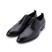 Meurieio Belliei 真皮素面德比紳士皮鞋 黑 PE362703 男鞋 鞋全家福