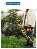 水管軟管三3分花園管塑料pvc伸縮水管軟水管家用自來水管子彈簧管 LX 夏洛特