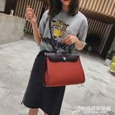 手提包 北包包復古通勤大包女韓版大氣百搭手提包文藝簡約側背包 時尚芭莎