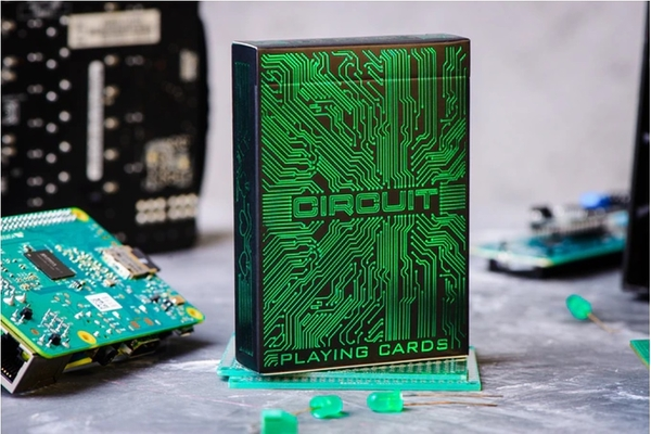 【USPCC撲克】Circuit Neon Green editions S103049695