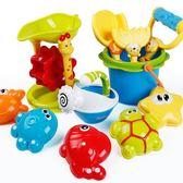 水上玩具兒童沙灘玩具車套裝大號寶寶玩沙子挖沙漏鏟子工具決明子嬰兒玩具 全館免運
