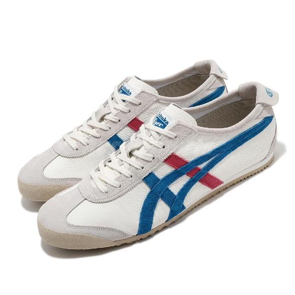 Onitsuka Tiger 休閒鞋 Mexico 66 Vin 米 藍 紅 男鞋 女鞋 低筒 復古慢跑鞋 基本款 【ACS】 1183B391100