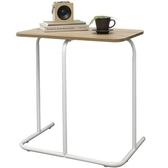 DIY簡約鋼木組合邊桌寫字筆電桌wt013-7-白