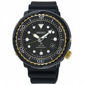 【僾瑪精品】SEIKO 精工PROSPEX 太陽能潛水錶-黑x金/V157-0CX0X(SNE498P1)