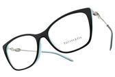 Tiffany&CO.光學眼鏡 TF2160BF 8055 (黑-蒂芬尼藍) 甜蜜情結貓眼款 眼鏡框 # 金橘眼鏡