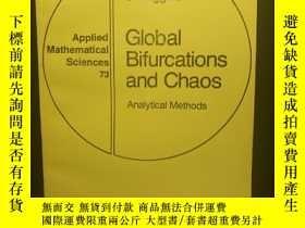 二手書博民逛書店Global罕見Bifurcations and Chaos—A