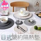 ✿現貨 快速出貨✿【小麥購物】日式簡約隔熱墊 棉線隔熱墊 餐桌墊 碗墊 盤子墊【G170】