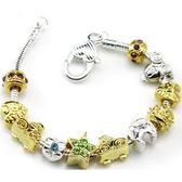 手鍊 串珠-精美時尚生日聖誕節禮物925純銀飾品72l76【時尚巴黎】