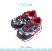Swan天鵝童鞋-賽車小童機能學步鞋 1567-黑