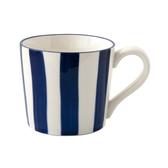 藍黛陶瓷馬克杯320ml 直紋