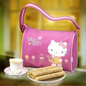 Hello Kitty.芝麻蛋捲禮盒-自然風﹍愛食網