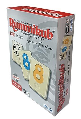 『高雄龐奇桌遊』拉密特別版 Rummikub Special Edition 標準牌 大字體 繁體中文版