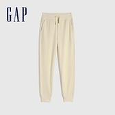 Gap男童 舒適基本款鬆緊休閒褲 910620-米色