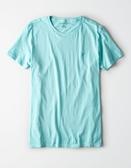 (BJGO) AMERICAN EAGLE_男裝_AE SLUB CREW NECK T-SHIRT 美國老鷹純棉素色T恤 素T  最新代購