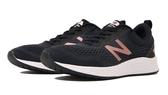 New Balance 女款黑X玫瑰金寬楦運動慢跑鞋-NO.WARISLL3