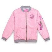 空軍外套-粉色短款寬鬆棒球服男女MA1夾克(單件)72av19[巴黎精品]