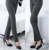 西褲女直筒工作褲正裝褲職業女士 ☸mousika