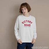 【GIORDANO】女裝 Dreamers系列復古風大學T恤 - 16 皎白