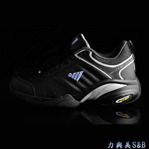 【平價款】JUMP 男多功能運動鞋 舒適耐穿 寬楦頭設計適合腳型較寬者 全黑色 工作鞋 【1968】