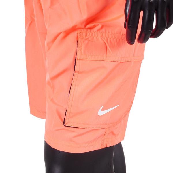 Nike Solid [NESSB521-821] 男 短褲 九吋 海灘褲 運動 休閒 快乾 透氣 內裏褲 口袋 橘
