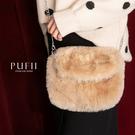 現貨◆PUFII-側背包 S釦環毛毛側背小包-1219 現+預 冬【CP17779】